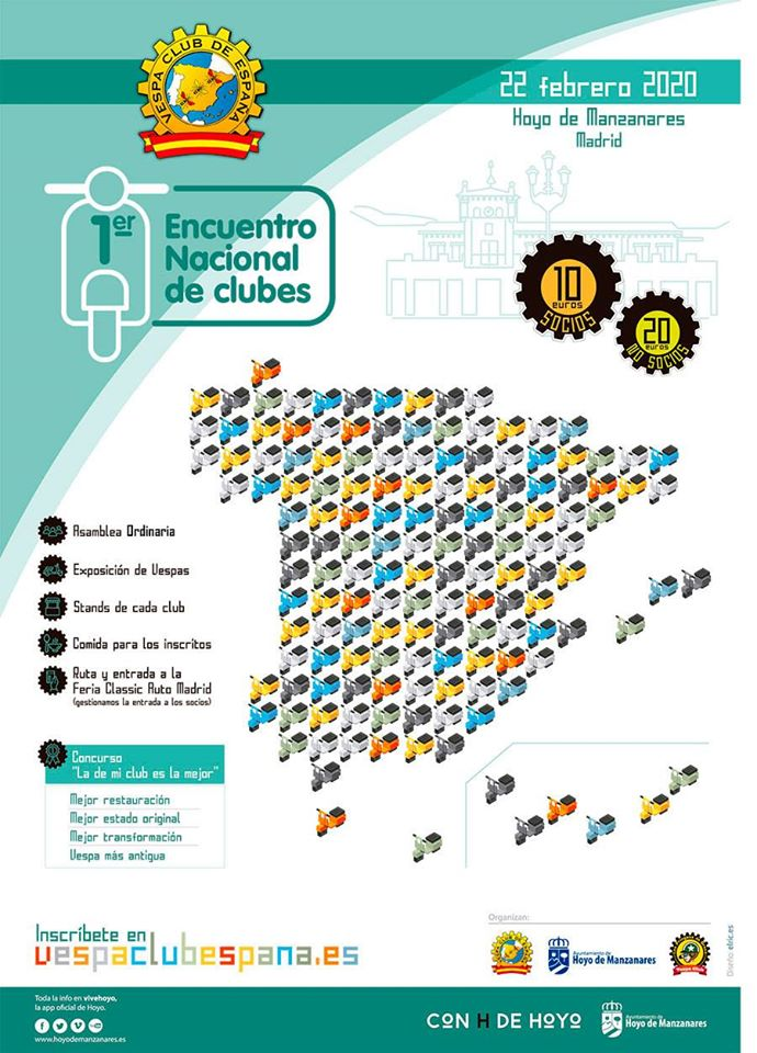 I Encuentro Nacional Clubes Hoyo Manzanares
